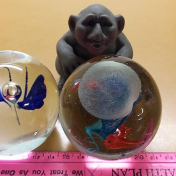 Dollar Tree Paperweights - Art Glass