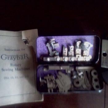 1920's Graybar sewing machine - Sewing