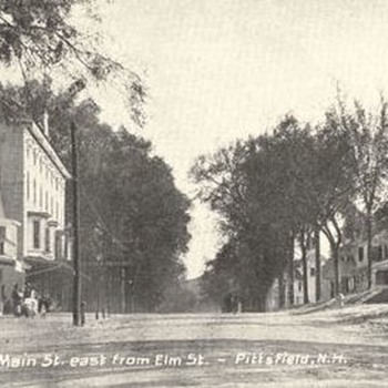 Old postcard from N.H