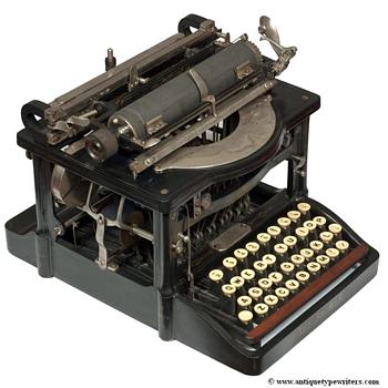Shimer typewriter - 1898 - Office