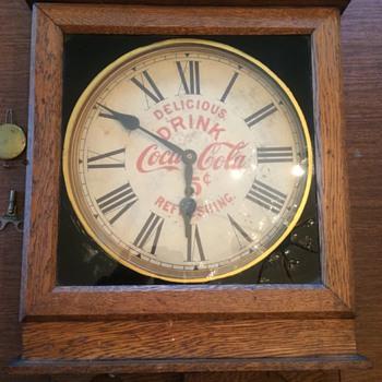 My Coca Cola Regulator Clock - Coca-Cola