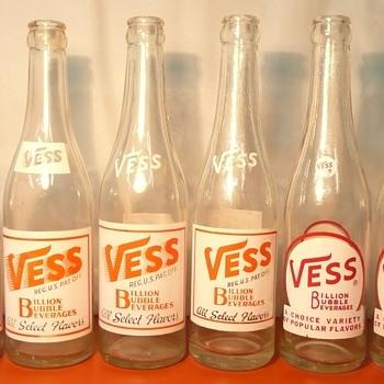 Vess Soda Bottles - Bottles