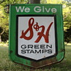 Vintage S&H Greenstamp sign