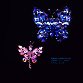 Sherman Jewellery Butterfly - Costume Jewelry