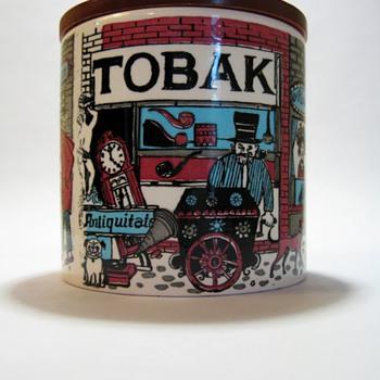 TOBAK JAR-W.GERMANY - Pottery