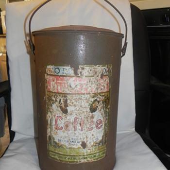 10 pound coffee can - Kitchen