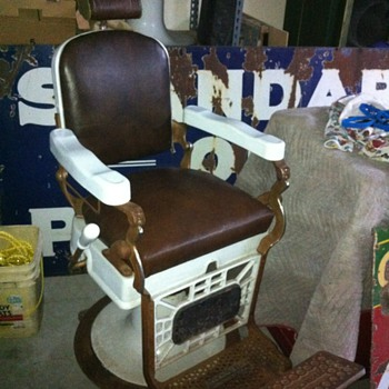 My Hercules barber chair - Furniture