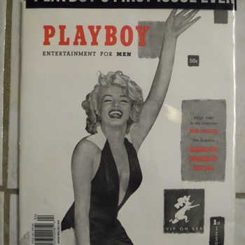 2014 reprint 1953 Marilyn Monroe playboy