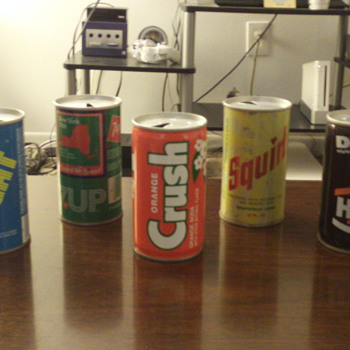 70's & 80's Soda Can collection.