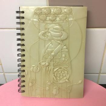 Art Nouveau Rennie Mackintosh image Marble Plaque writing pad - Art Nouveau