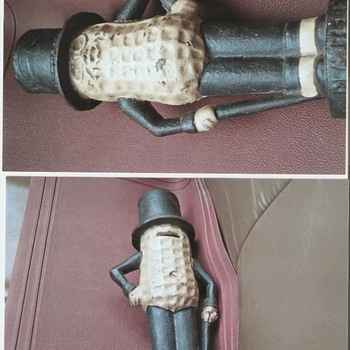 Mr. Peanut bank - Coin Operated