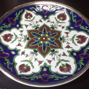 Dakas Ceramic Plate - Pottery
