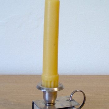 Candle and match holder - Victorian Era