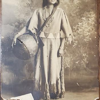 Karl moon photo Native American woman  - Native American