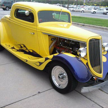Too bad this 34 Ford was a kit car... Beware when purchasing.  They're not always what they appear.