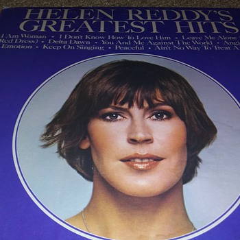 "HELEN REDDY(1941-2020)....12"" VINYL DISC....#16 - Records"