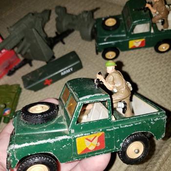 Dinky and Corgi - Model Cars