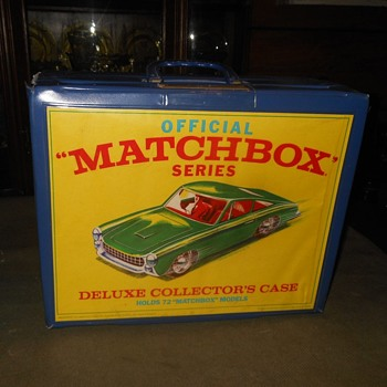 Matchbox Monday Matchbox Deluxe Carrying Case Carries 72 Cars - Model Cars