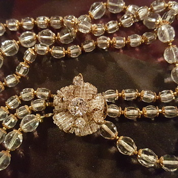 My favorite Miriam Haskell - Costume Jewelry