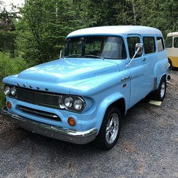 My 1962 Dodge D100 Town Wagon  - Classic Cars