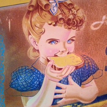 Sunbeam Tin Bread Sign...three-dimensional...4' x 7'...1950's - Signs