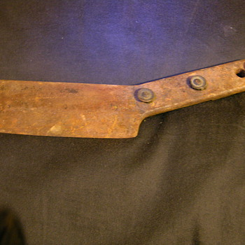 I know this is a knife w/missing handle says bell system on blade - Tools and Hardware
