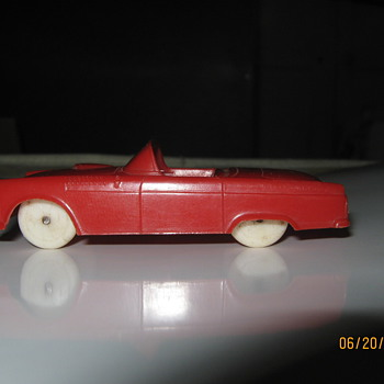 55 Ford Thunderbird - Model Cars