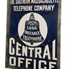 Southern Massachusetts Telephone Central Office Sign