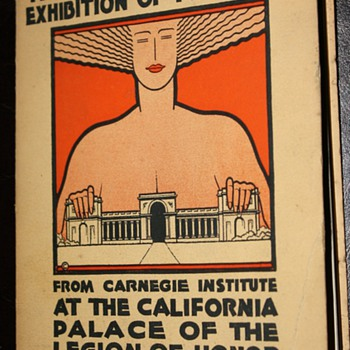 Europe in Paintings and Critique - 1928 - Palace of the Legion of Honor - Paper