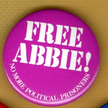 Free Abbie Hoffman - NO MORE POLITICAL PRISONERS - Politics