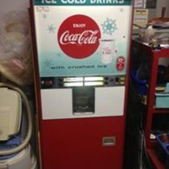 Rowe soda , pop dispenser ...late 50's? - Coca-Cola
