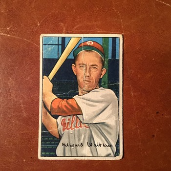 Bowman 1952 Series Baseball Picture Card  - Baseball