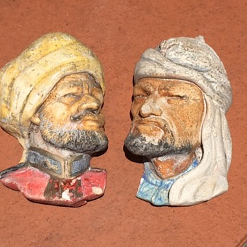 Plaster Wall Hanging Busts
