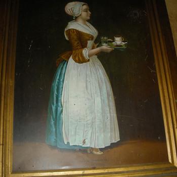 La Belle Chocolatière Girl
