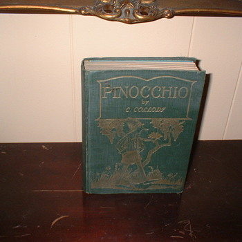 First Edition Pinocchio