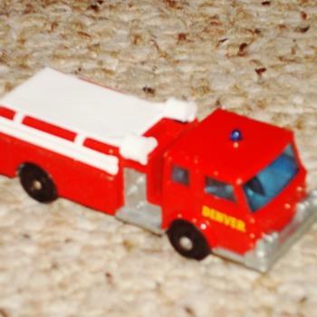 Lesney Matchbox Fire Truck