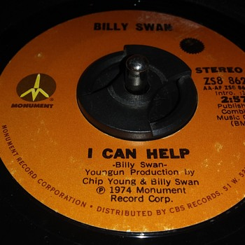 BILLY SWAN - Records