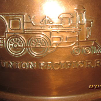 Union Pacific R.R spittoon