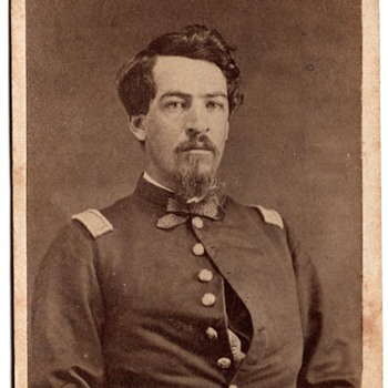 Identified Civil War cdv of Henry Freeman - Military and Wartime