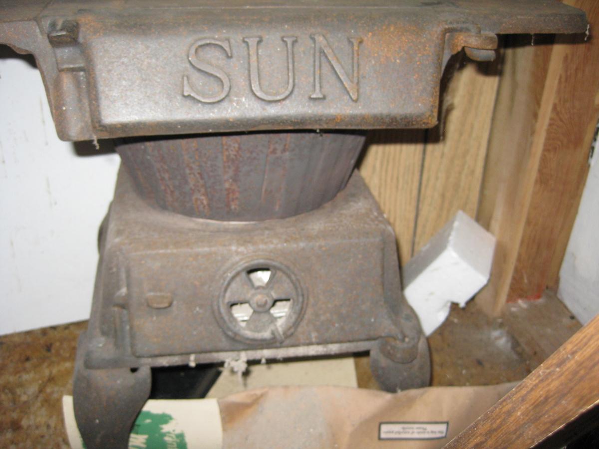 King Stove And Range Sun Two Burner Coal Cook Stove 2 88