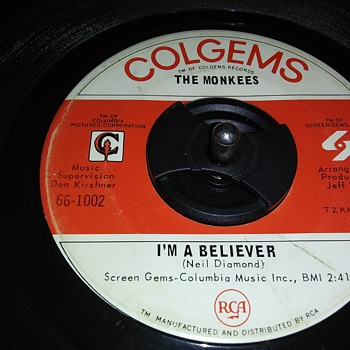 45 RPM SINGLE....#24 - Records