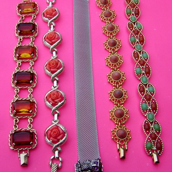 Bracelets by Sarah Coventry - Costume Jewelry