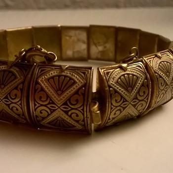 Toledoware Bracelet Flea Market Find $5.00