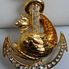 Necklace with Anchor&Fish, Circa 20 Century