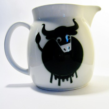 """KAJ FRANCK 1911-1989  """"GREEN"""" - Pottery"""