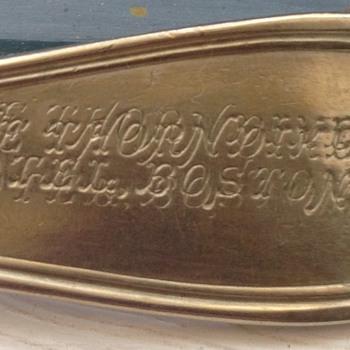 Reed & Barton engraving error - Silver