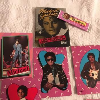 Michael Jackson Topps Cards - Music Memorabilia