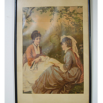 ANTIQUE WOMEN PRINTS? - Posters and Prints