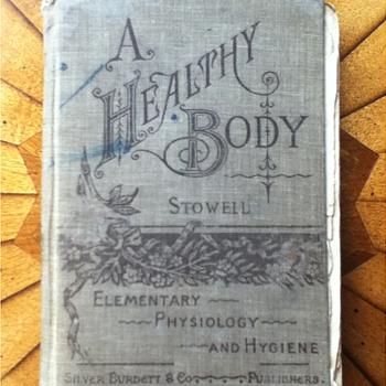"""""""A Healthy Body"""" Schoolbook"""