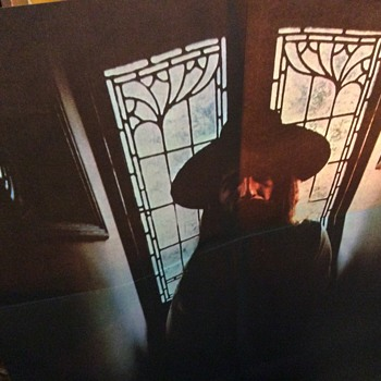 3/4 life-size George Harrison poster  included - Records